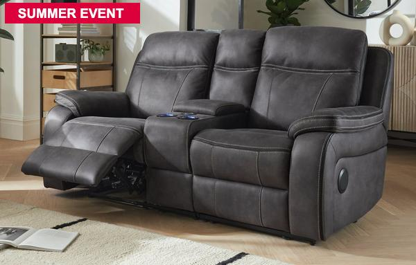 Fabric Recliner Sofas In Classic, Sofas With Recliners